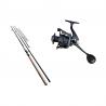 Set lansetă feeder 3 m 100% carbon Sea Eagle și mulinetă cu tambur de 7000 Beast King