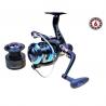 Mulinetă Wind Blade G3, 6 rulmenți, frână spate, tambur metalic+grafit