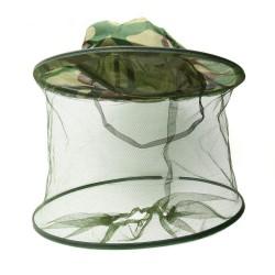 Pălărie pescuit cu protectie anti-tântari