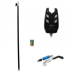 Senzor lansetă cu baterie și suport Wind Blade