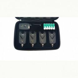Statie cu 4 avertizori Hakuyo baterii incluse si valigeta