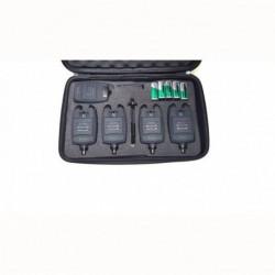 Statie cu 4 avertizori Hakuyo baterii incluse si valigeta model 2018